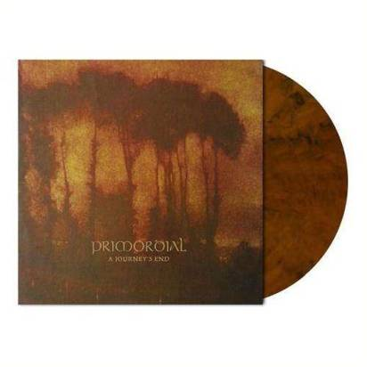 "Primordial ""A Journey's End Auburn Marbled LP"""