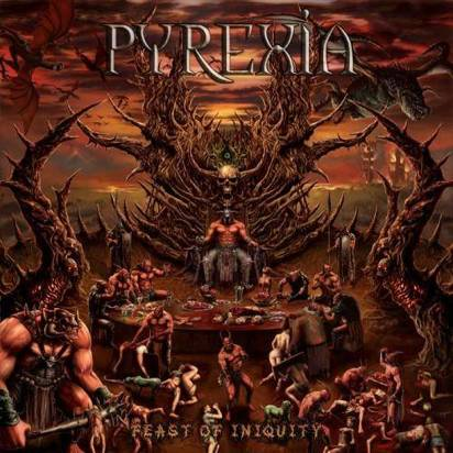 "Pyrexia ""Feast Of Iniquity"""