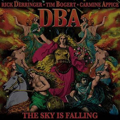 "Rick Derringer Tim Bogert Carmen Appice ""DBA - The Sky Is Falling"""