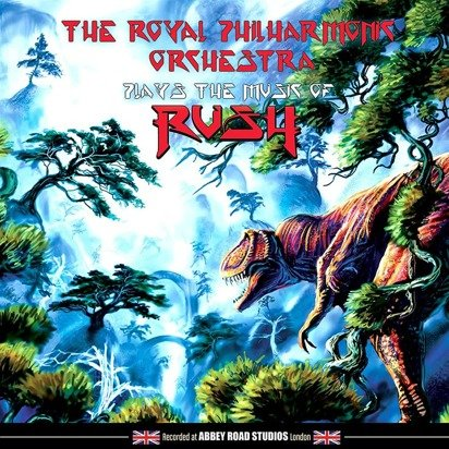 "Royal Philharmonic Orchestra ""Plays The Music Of Rush LP"""