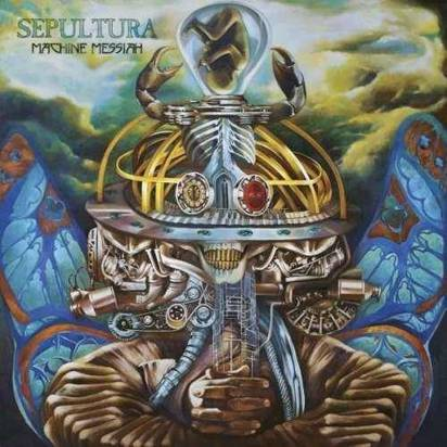 "Sepultura ""Machine Messiah Black Lp"""