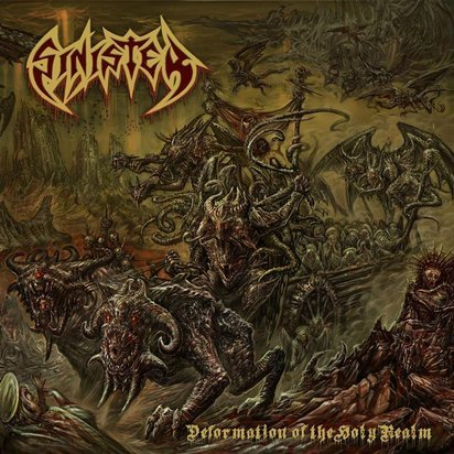 "Sinister ""Deformation Of The Holy Realm Black LP"""