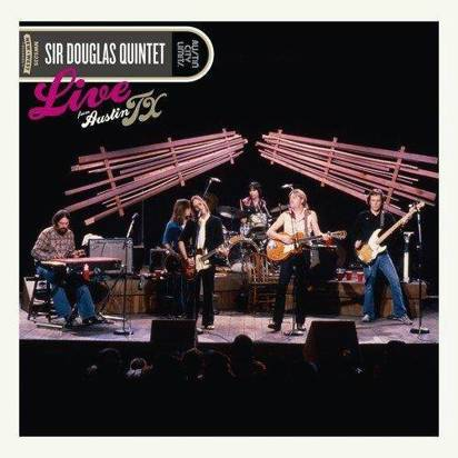 "Sir Douglas Quintet ""Live From Austin TX LP"""