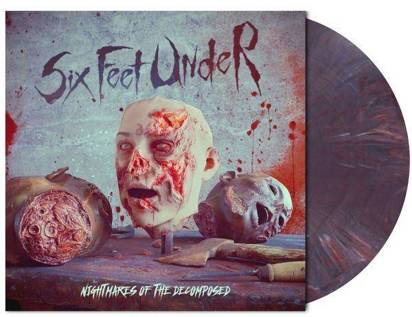 Six Feet Under - Nightmare Of The Decomposed / LP