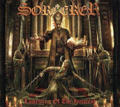 "Sorcerer ""Lamenting Of The Innocent Ochre Brown LP"""
