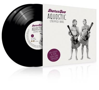 "Status Quo ""Aquostic Stripped Bare Lp"""