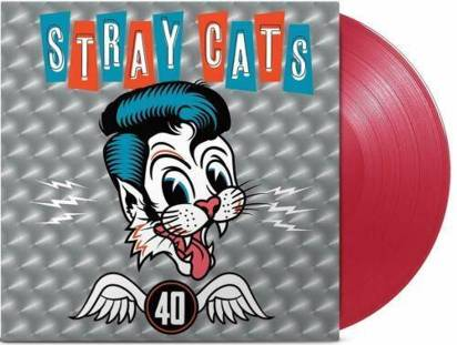 "Stray Cats ""40 Red LP"""
