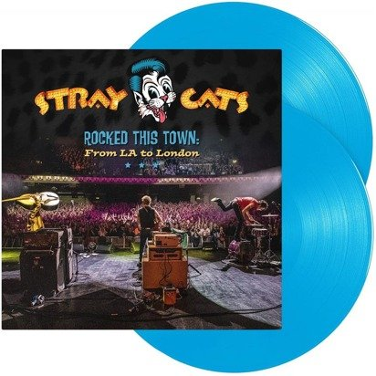 "Stray Cats ""Rocked This Town From LA To London LP"""