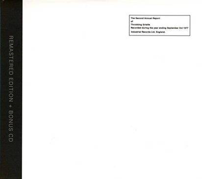 "Throbbing Gristle ""The Second Annual Report Of Throbbing Gristle"""