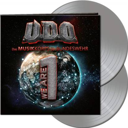 "U.D.O. ""We Are One Silver LP"""