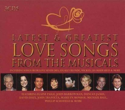 "V/A ""Latest & Greatest Love Songs From The Musicals"""