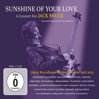 "V/A ""Sunshine Of Your Love A Concert For Jack Bruce CDDVD"""