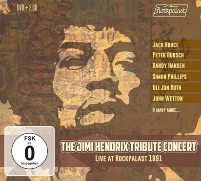 "V/A ""The Jimi Hendrix Tribute Concert Live At Rockpalast 1991 CDDVD"""