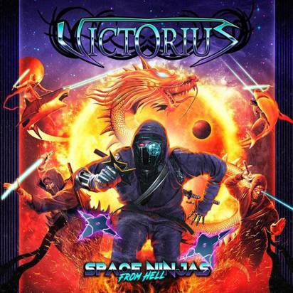 "Victorius ""Space Ninjas From Hell LP"""