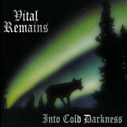 "Vital Remains ""Into Cold Darkness Lp"""
