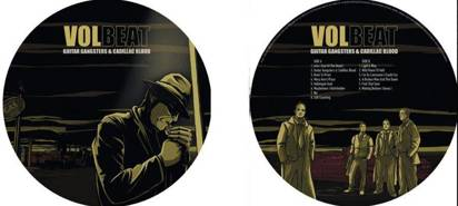 "Volbeat ""Guitar Gangsters & Cadillac Blood Picture Lp"""