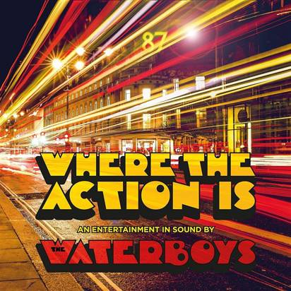 "Waterboys, The ""Where The Action Is Limited Edition"" 2CD"
