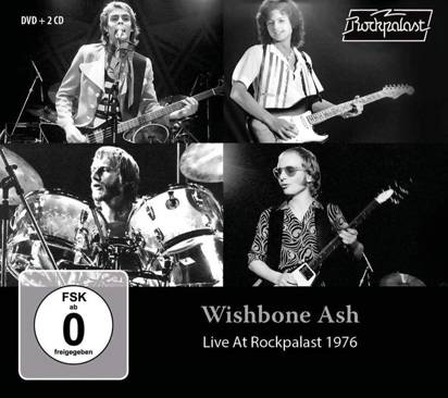 "Wishbone Ash ""Live At Rockpalast 1976 CDDVD"""