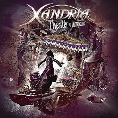 "Xandria ""Theater Of Dimensions LP"""